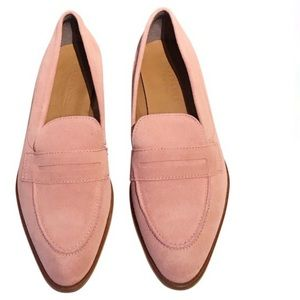 Everlane The Modern Penny Loafer in Rose Suede